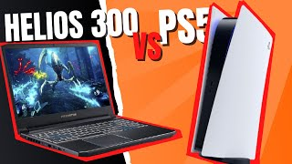 PS5 VS GAMING LAPTOP   Acer Predator Helios 300 - Console Killer