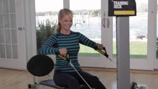 Christie Brinkley on the Total Gym