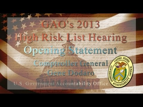 GAO: Comptroller General Testifies on GAO