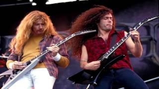 Megadeth Rust In Peace 1990 Guitar Only