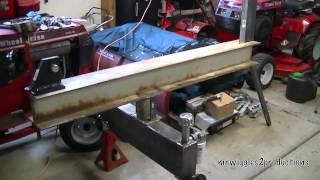 Homemade Log Splitter Build Part 6