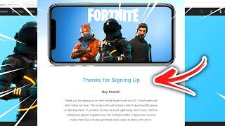 FORTNITE ON HANDY DOWNLOADEN 📲 INVITE CODE | Fortnite Battle Royale News