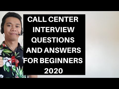 Call Center Interview Questions and Answers for Beginners ...