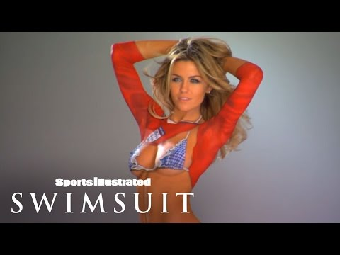 Body Painted World Cup Jersey | Sports Illustrated Swimsuit