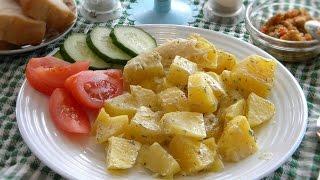 Картошка в духовке мммммм.....
