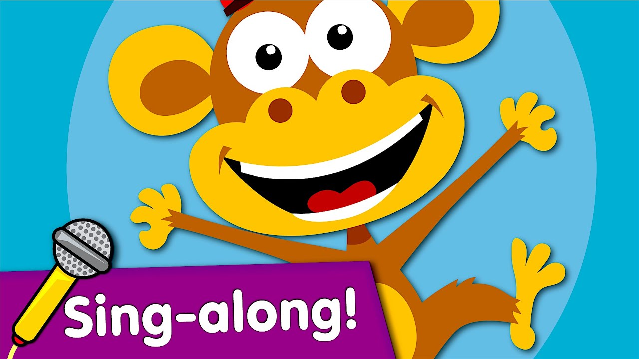 five little monkeys sing along kids songs readalong with super simple songs youtube. Black Bedroom Furniture Sets. Home Design Ideas