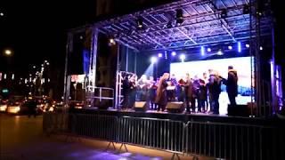 Radu Gyr in Piata Universitatii pe 21 Decembrie 2017 - Colinde cantate de Cantus Domini