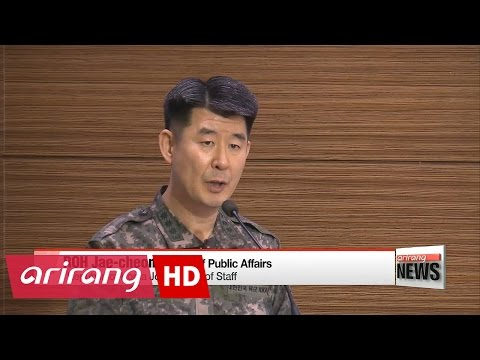 S. Korea's JCS affirms N. Korea can fire ICBM 'anytime and anywhere'
