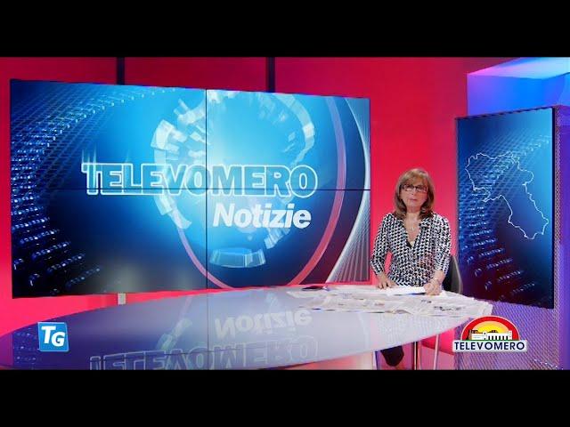 TELEVOMERO NOTIZIE 10 MAGGIO 2021 EDIZIONE delle 20 30