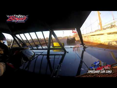 #85 Jason Hiett - Super Late Model - 2-2-20 Boyds Speedway Cabin Fever - In-Car Camera