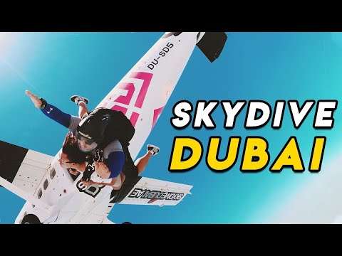 DUBAI SKYDIVING & ATLANTIS WATERPARK [Pinoy Travel Guide]