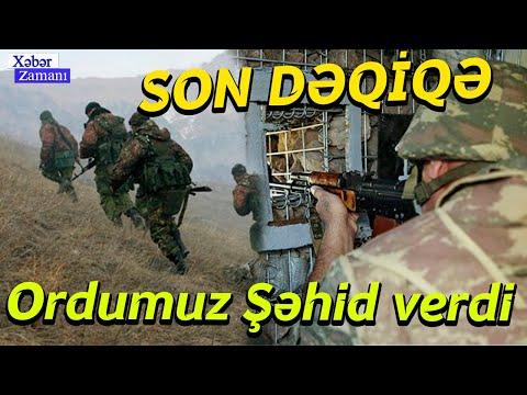 SON DƏQİQƏ - Ordumuz Şəhid verdi