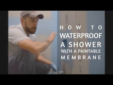 How to Waterproof a Shower with a Shower Membrane