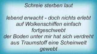 Rosenstolz - Lebend Erwacht Lyrics