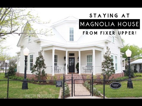 Stay at the Magnolia House from FIXER UPPER!