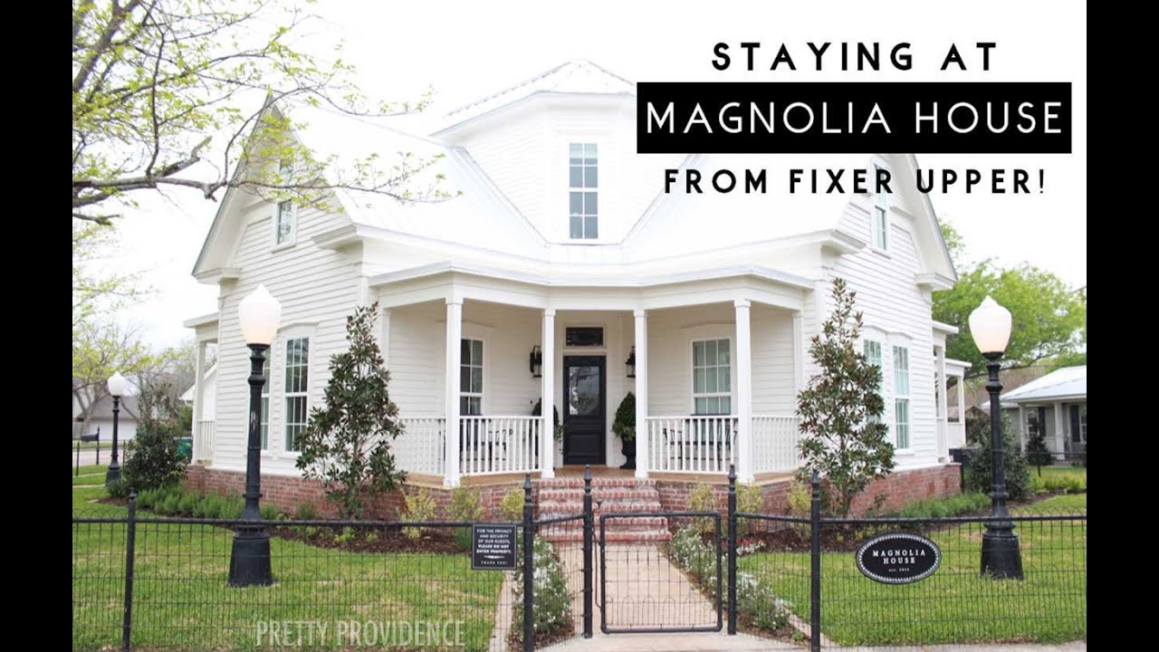 Stay at the magnolia house from fixer upper youtube for What happens to the houses on fixer upper