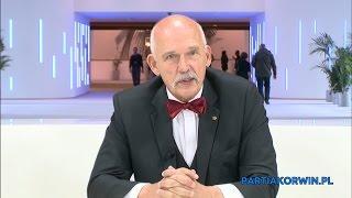 Janusz Korwin-Mikke m.in. o Tusku, masonerii, socjalizmie i kapitalizmie 04.11.2015
