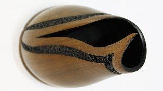 Woodturning - A Tulip/Poplar Vessel