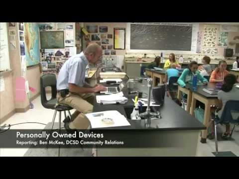 Cell Phones in School / Personally Owned Devices (PODs) Initiative
