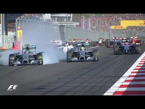 Hamilton Wins The First F1 Race In Russia | 2014 Russian Grand Prix