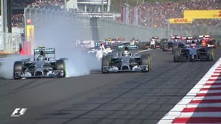 Lewis Hamilton Wins The First F1 Race In Russia | Russia 2014