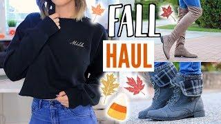 Video Fall Try-On Haul | Fall Clothes, Home Decor + Fall Shoes Haul! download MP3, 3GP, MP4, WEBM, AVI, FLV Januari 2018
