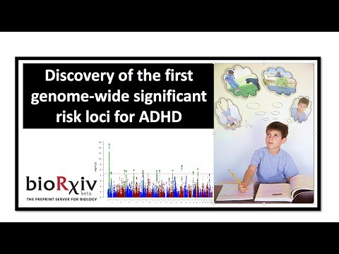 Discovery Of The First Genetic Risk Factors For ADHD