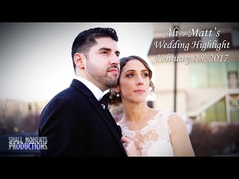 Ali & Matt's Wedding Highlight (Waterside - Edgewater ,NJ)