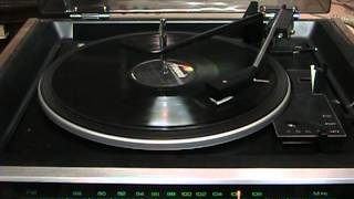 High fidelity 78 RPM vinyl record