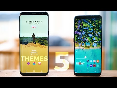 Top 5 Android Themes 2017 | Customize Your Android #8
