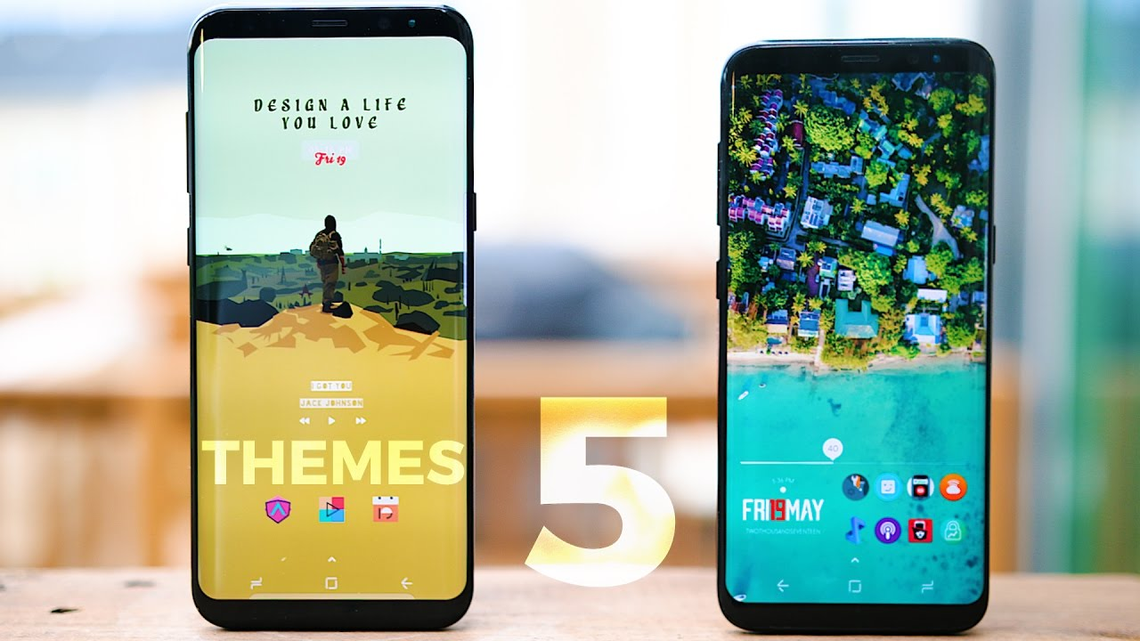 Top 5 Android Themes 2017 Customize Your Android 8