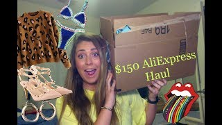 $150 Aliexpress Haul | Cheap Clothing Haul
