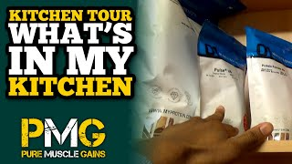 The Kitchen Tour: Whats in my Fridge & Cupboards | Bodybuilding Foods