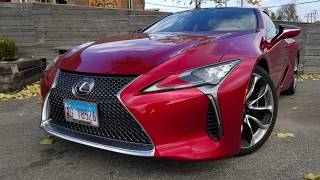 2018 Lexus LC 500: One of the Best Sports Coupes Ever