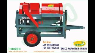 Thresher manufacturers exporters in india www.saecoagrotech.com