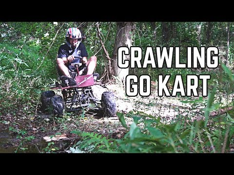 Monster Truck Kart First Ride! IT CRAWLS!
