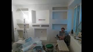 Кешенді жөндеу 2к шаршы Мәскеуде/Аpartment renovation in Moscow 2018 ^__^ №5