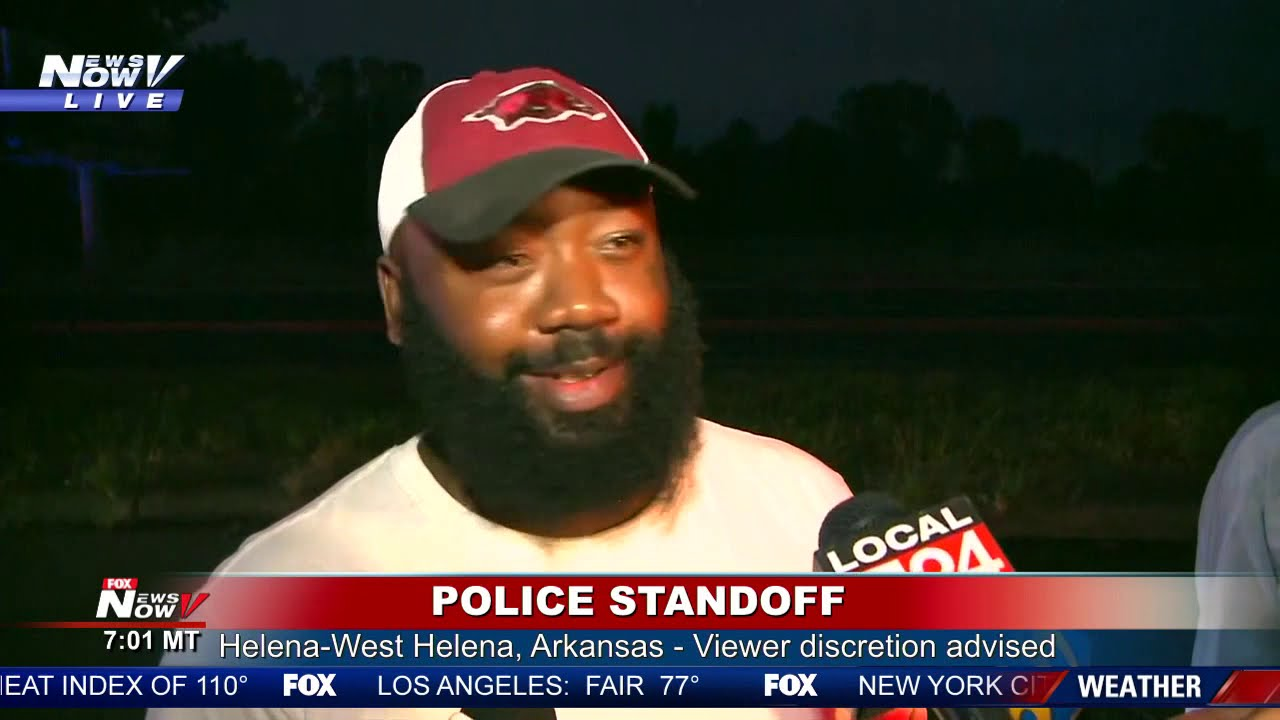 WITNESSES SPEAK: People living in Arkansas react to police standoff situation