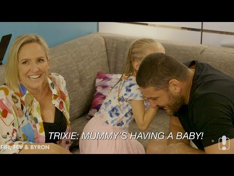 Fifi & Trixie Surprise Fev With Baby Announcement! | Fifi, Fev And Byron