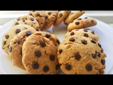 recette-de-cookies-moelleux-au-pÉpite-de-chocolat-facile-et-trÈs-rapide!!