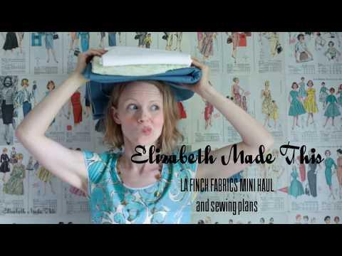 LA Finch Fabrics Mini Haul June 2017