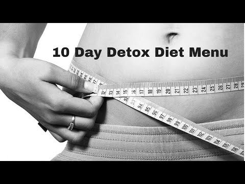 10 Day Detox Diet Menu