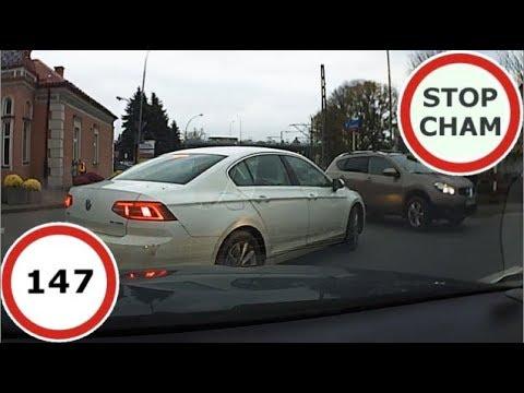 Stop Cham #147 – Niebezpieczne i chamskie sytuacje na drogach