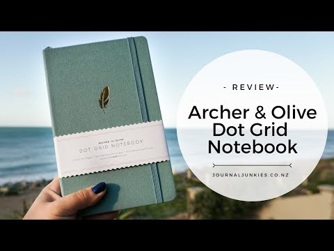 Bullet Journal Review: Archer & Olive Dotted Notebook