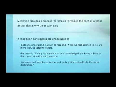 Elder Law Mediation