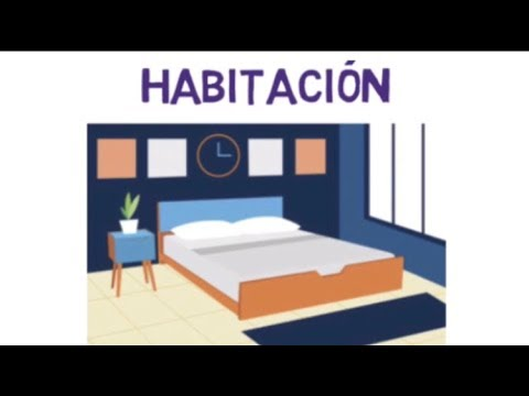 Spanish Bedroom Vocabulary Youtube
