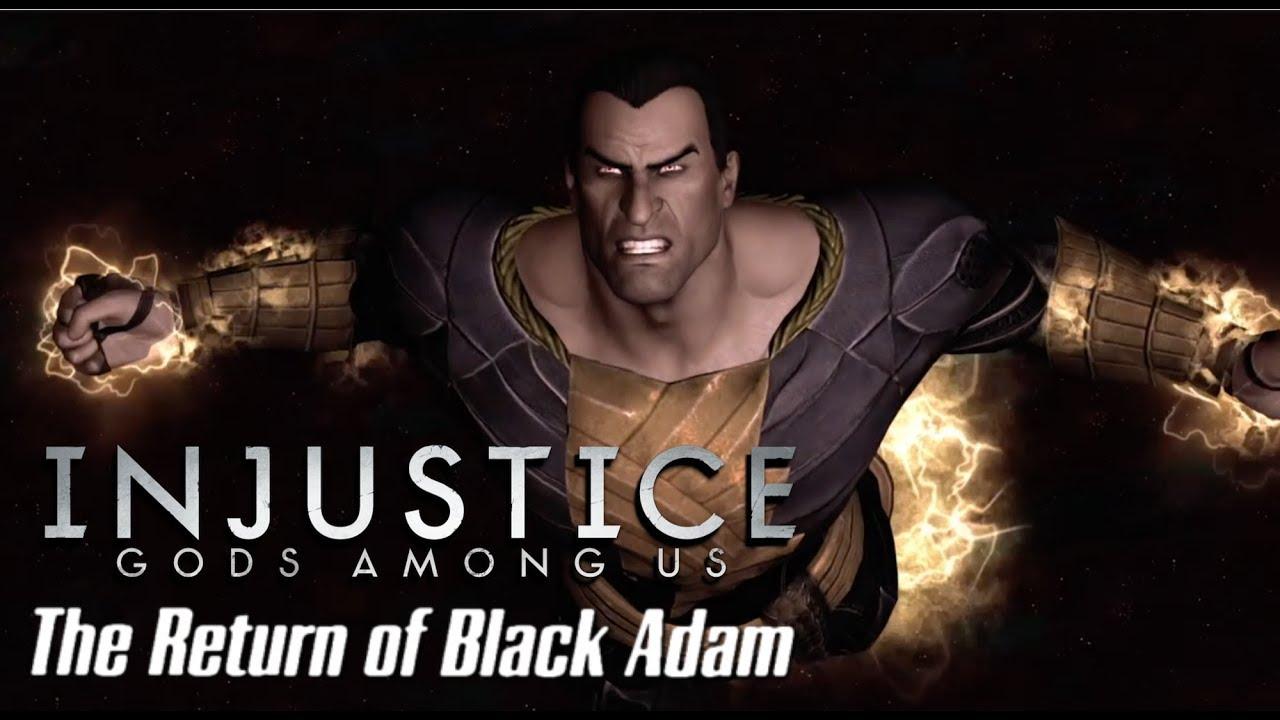 Download Injustice: The Return of Black Adam Trailer