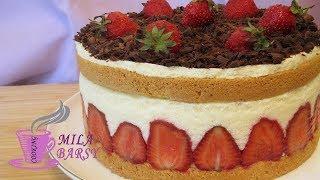 Эффектный торт Фрезье | Безумно нежный | Spectacular cake Fraisier