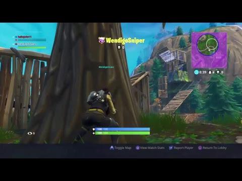 Fortnite Challenges W/ Windgo Sniper