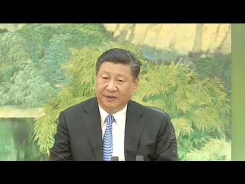 Xi meets defense ministers of SCO in Beijing
